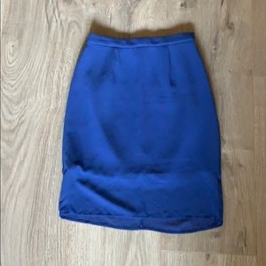 Finders Keepers Royal Blue Skirt